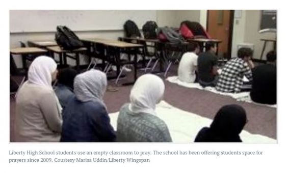 Muslim Prayer Room in Frisco ISD??